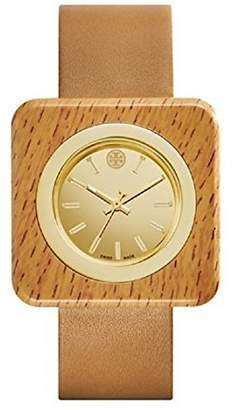 Tory Burch TRB3007 Izzie Brown Leather Strap Dial Dial Women's Watch