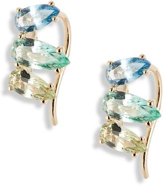 Nadri Gelato Small Cubic Zirconia Ear Crawlers