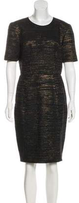 Jason Wu Knee-Length Metallic Dress