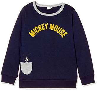 Disney (ディズニー) - [ディズニー] ミッキーポケット付トレーナー ボーイズ 332221002 ネイビー 日本 100 (日本サイズ100 相当)