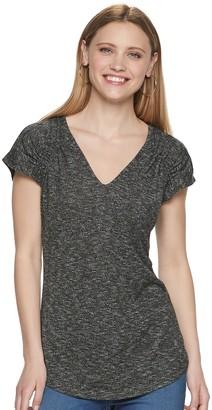 Juicy Couture Women's Shirred Shoulder Top