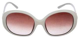 Fendi Embellished Gradient Sunglasses