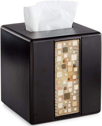 Croscill Bath, Mosaic Tissue Cover Bedding
