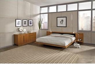 "Copeland Furniture Moduluxe 35"" Upholstered Platform Bed Copeland Furniture"