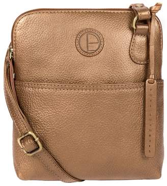 bdbbd8ca5 at Debenhams · Pure Luxuries London - Bronze Gold 'Orsola' Fine Leather  Cross-Body Bag