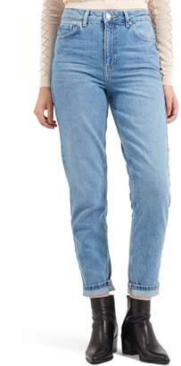 Topshop Light Denim Mom Jeans