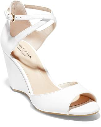 Cole Haan Sadie Open Toe Wedge Sandal