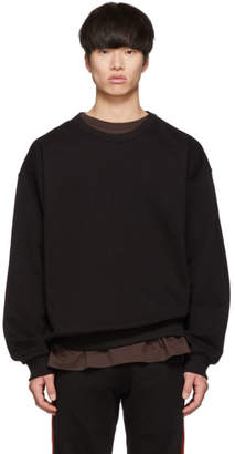 Dries Van Noten Black Haston Sweatshirt