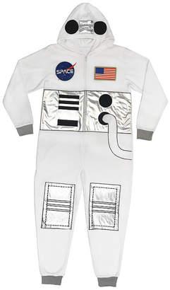 Asstd National Brand Mens Fleece One Piece Pajama Long Sleeve