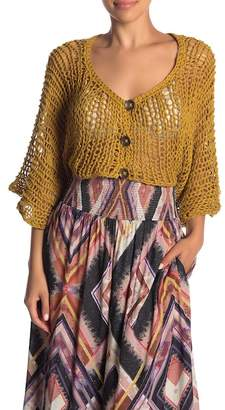 Free People Free Love Chunky Knit Shrug