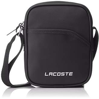 e086d1143 Lacoste Mens NH2349UT Top-Handle Bag Black Size  One Size