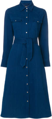 A.P.C. denim shirt dress