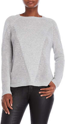 Joseph A Mix Stitch Sweater