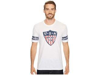 Life is Good Happy Hour Team Vintage Sport Tee Men's Short Sleeve Pullover