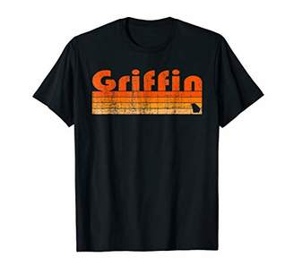 Retro 80s Style Griffin GA T-Shirt
