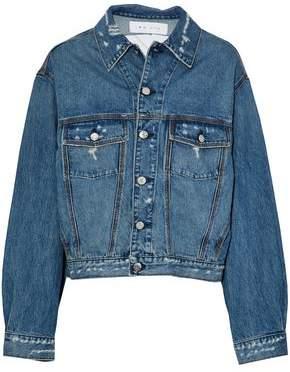 IRO Distressed Denim Jacket