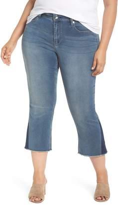 Seven7 Shadow Godet Ankle Duster Jeans