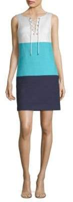 Trina Turk Miss Brady Colorblock Dress