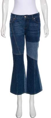 Alexander McQueen Mid-Rise Flared Jeans