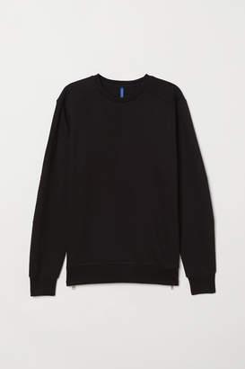 H&M Sweatshirt with zips