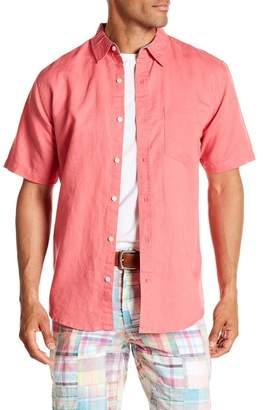 Vintage 1946 Linen Blend Pocket Regular Fit Shirt