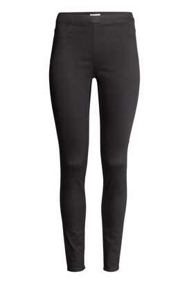 H&M Slim-fit Leggings - Black - Women