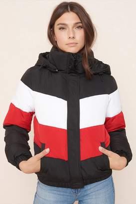 Garage Colourblock Puffer Jacket