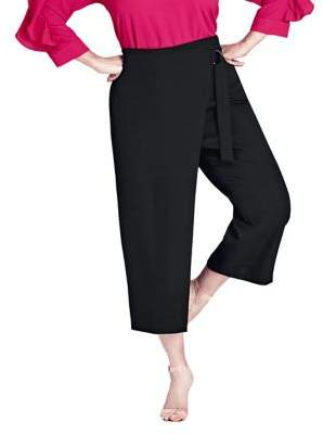 City Chic Plus Wrap Up Pants