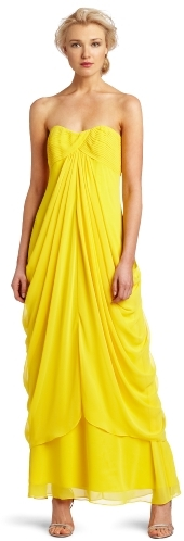 Laundry by Shelli Segal Women's Strapless Pick Up Gown