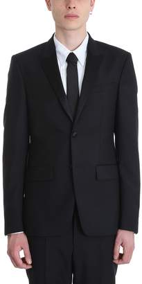 Givenchy Smoking Black Wool Suits