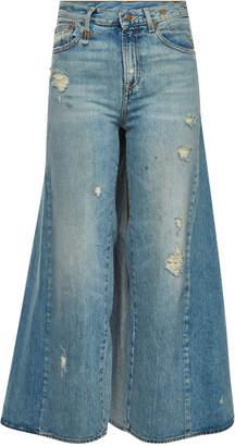 R 13 Wide-Leg Jeans