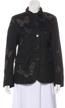Valentino Embroidered Butterfly Jacket w/ Tags