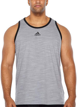 adidas 3g Heathered Tank Tank Top Big and Tall