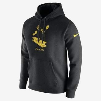 Nike Club (NFL Steelers) Men's Fleece Pullover Hoodie