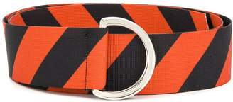 Roseanna two-tone D-ring belt