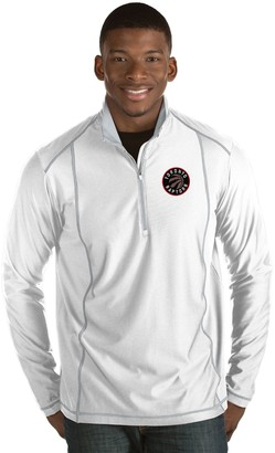 Antigua Men's Toronto Raptors Tempo Quarter-Zip Pullover