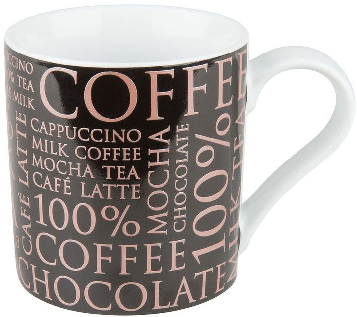Konitz 100% Coffee 4-pc. Coffee Mug Set
