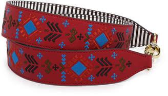 Henri Bendel Embroidered Bag Strap