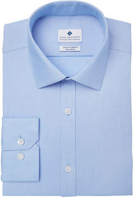 Ryan Seacrest Distinction Men's Ultimate Slim-Fit Non-Iron Performance Dobby Dress Shirt, Created for Macy's