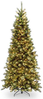 Tiffany & Co. National Tree Company 6.5-ft. Pre-Lit Fir Slim Artificial Christmas Tree