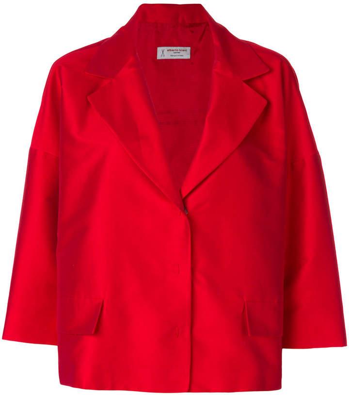boxy fit blazer