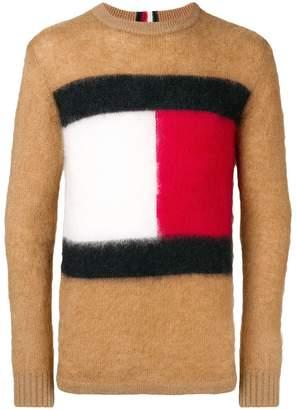 Tommy Hilfiger logo crewneck sweater