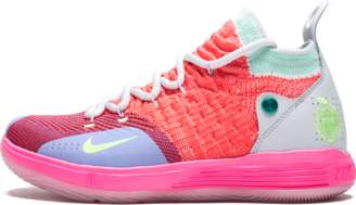 Nike KD11 (GS) Hot Punch/Lime Blast