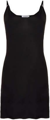 J. Lindeberg Jodie Black Smooth Underslip Dress