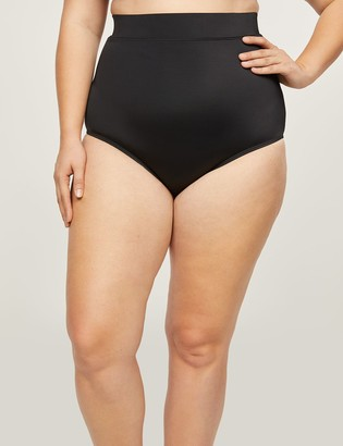 Lane Bryant High-Waist Swim Brief