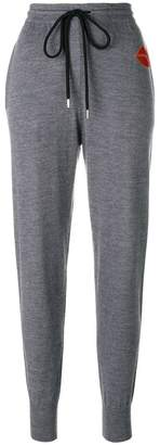 Markus Lupfer lip patch track pants