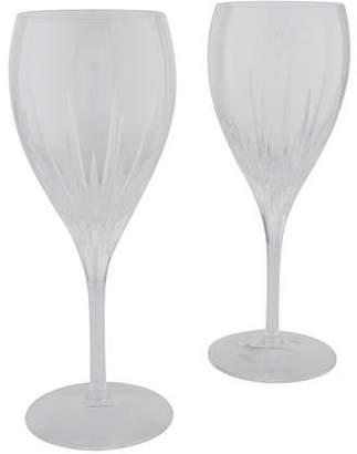 Christofle Pair of Iriana Wine glasses