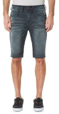 Buffalo David Bitton Parker-X Mid-Rise Shorts