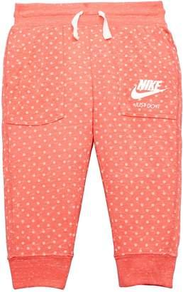 Nike YOUNGER GIRL GYM VINTAGE POLKA CAPRI PANT