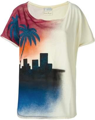 Faith Connexion sundown print T-shirt